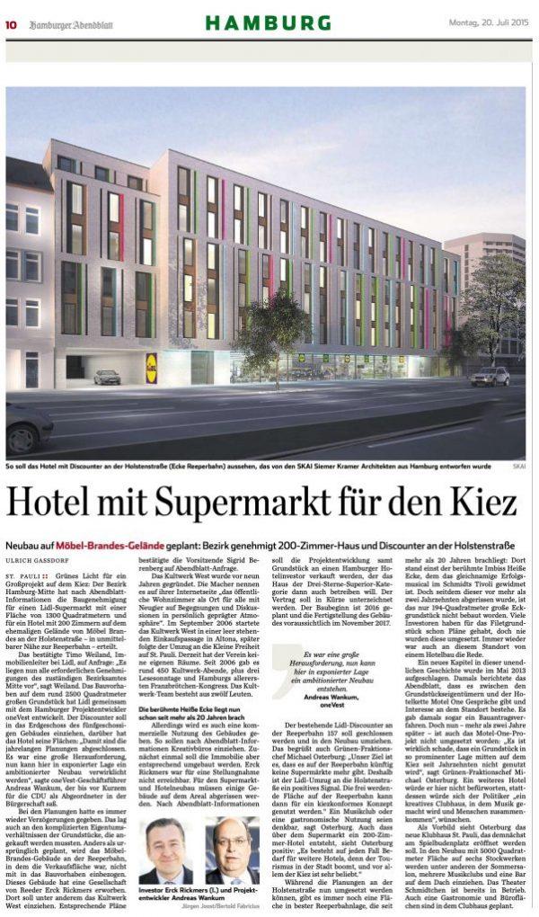 Tageszeitung: Hamburger Abendblatt