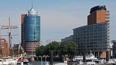 Kehrwiederspitze, Bürokomplex in Hamburg
