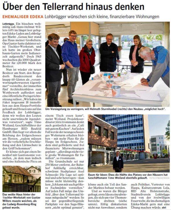 """Local newspaper: """"Lobrügger Zeitung"""""""