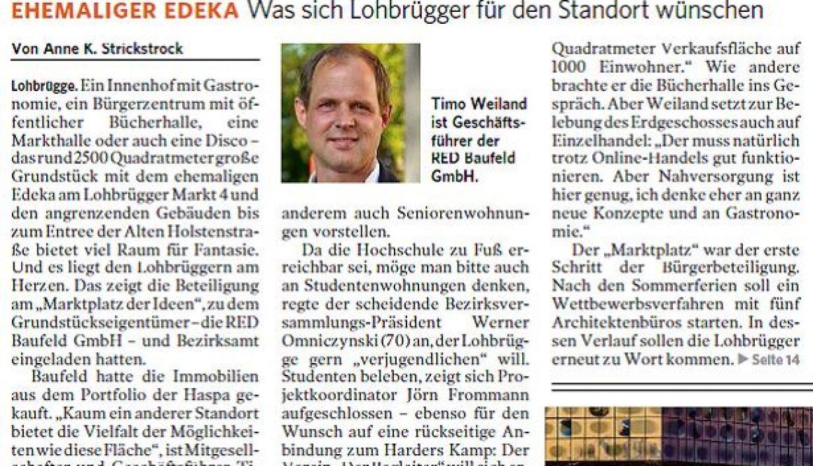 Lohbrügge Zeitungsartikel 2